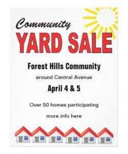 free community yard sale flyer templates free free image rummage sale flyer template and sample