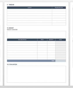 free free grant proposal templates  smartsheet grant project budget template pdf