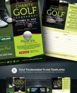 free golf tournament flyer psd template 67021 golf tournament template flyer doc