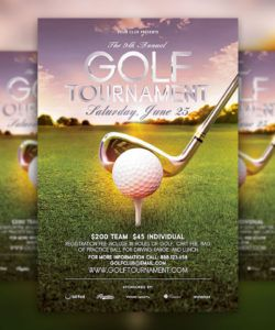 free golf tournament flyer psd template download  hyperpix golf tournament template flyer doc