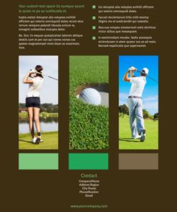 free golf tournament flyer template  mycreativeshop golf tournament template flyer