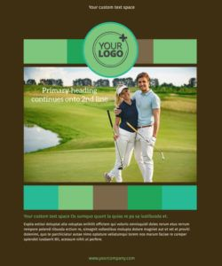 free golf tournament flyer template  mycreativeshop golf tournament template flyer and sample