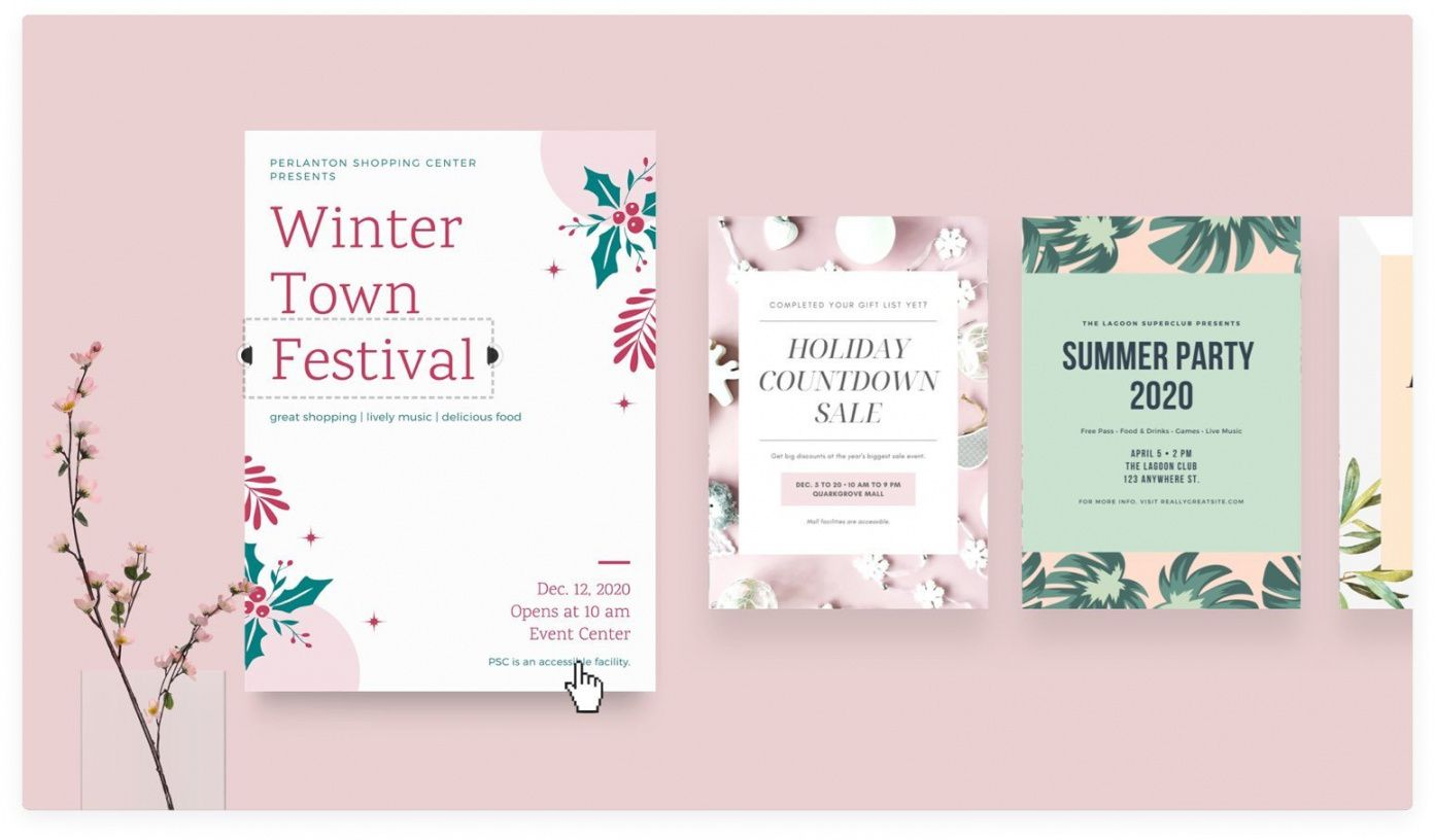 free online flyer maker design custom flyers with canva professional event flyer template and sample