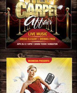 free red carpet flyer graphics designs & templates from graphicriver red carpet event flyer template pdf