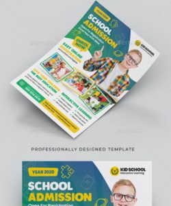 free school admission flyer graphics designs & templates trunk show flyer template and sample