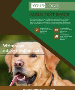 pet kennels flyer template  mycreativeshop dog sitting flyer template pdf