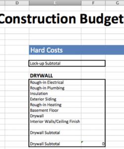 printable 4 best design construction cost estimation methods  fohlio interior design budget template word