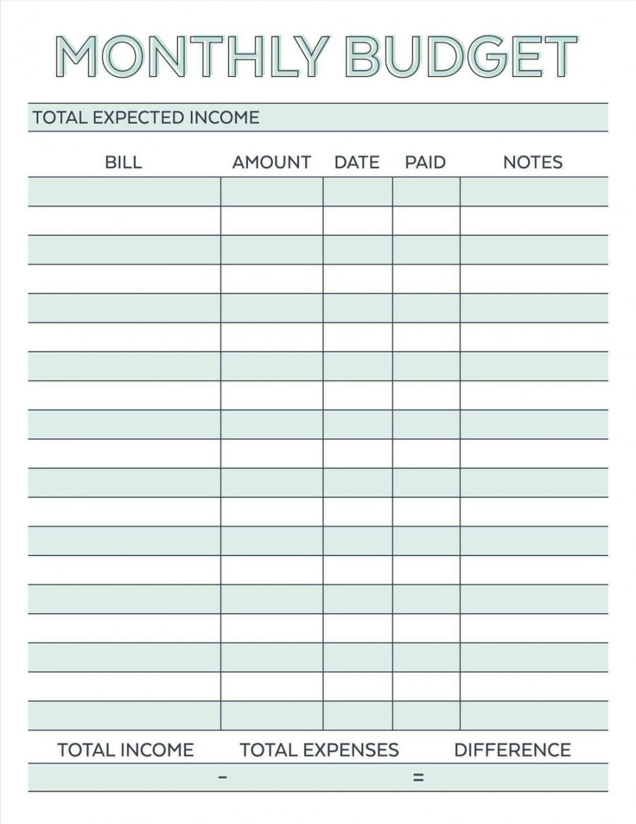 printable microsoft bi weekly family budget template monthly excel bi weekly household budget template pdf
