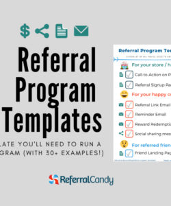 real life referral program templates that you can steal referral program flyer template pdf
