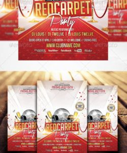 red carpet flyer graphics designs & templates from graphicriver red carpet event flyer template