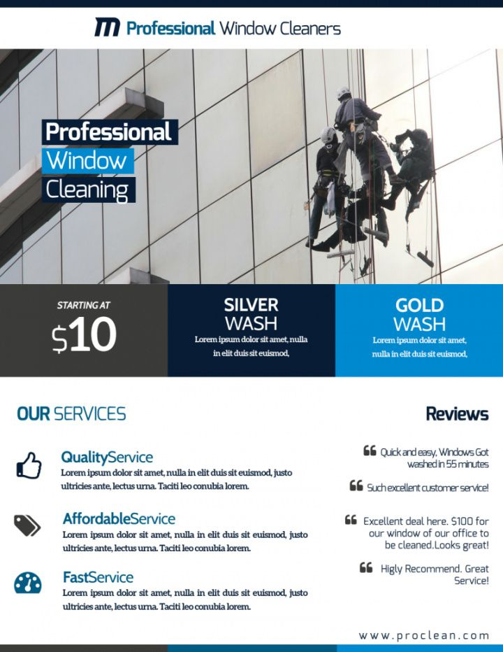 stunning window cleaning flyer template  mycreativeshop window cleaning flyer template pdf