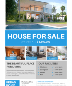 the best real estate flyer for all realty companies sell your house flyer template