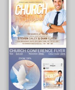 20 best free church flyer templates for your 2020 religious church conference flyer template pdf