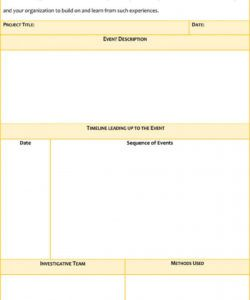 24 root cause analysis templates word excel powerpoint failure analysis report template