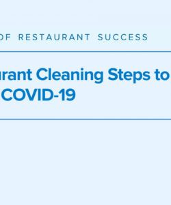 7 restaurant cleaning steps to combat covid19 restaurant cleaning checklist template pdf