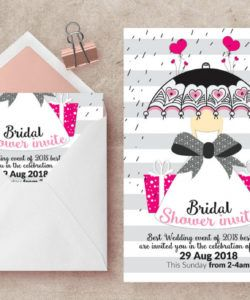 bridal shower invitation flyer template by designhub bridal shower flyer template doc