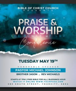 church flyer template by hotpin on dribbble easter church flyer template and sample