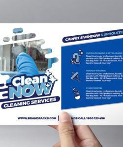 cleaning service flyer template in psd ai & vector  brandpacks maid service flyer template
