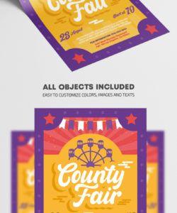 county fair  premium psd flyer template county fair flyer template doc