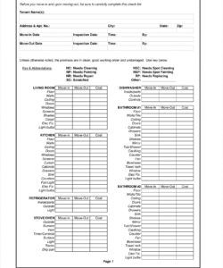 editable 11 rental checklist examples  pdf  examples vacation rental checklist template doc