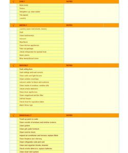 editable 40 printable house cleaning checklist templates ᐅ templatelab deep cleaning checklist template doc