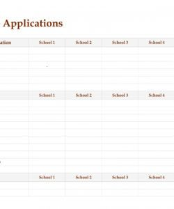 editable college checklist template archives  wordtemplate college application checklist template