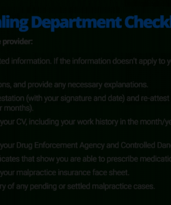 editable the quick guide to healthcare provider credentialing credentialing checklist template doc
