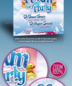 foam party flyer graphics designs & templates from graphicriver foam party flyer template