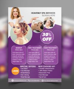 free beauty and hair salon flyer template  search by muzli beauty salon flyer template doc