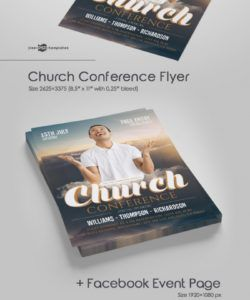 free church conference flyer in psd  free psd templates church conference flyer template doc