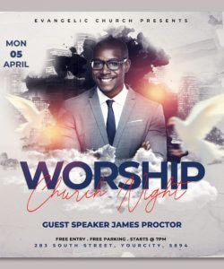 free church flyer template by hotpin on dribbble easter church flyer template and sample