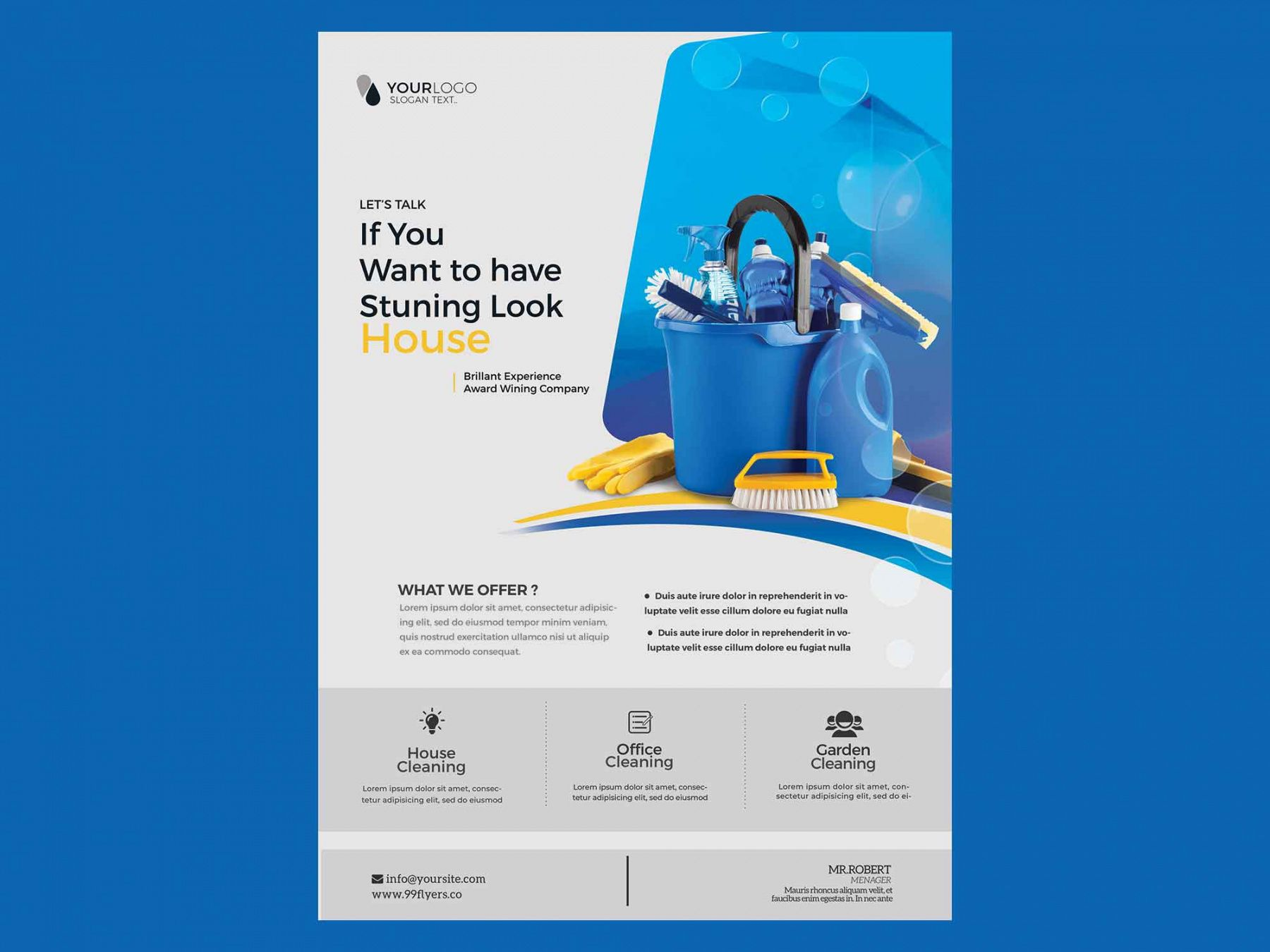 free cleaning service flyer template psd maid service flyer template pdf