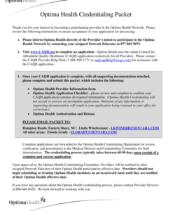 free credentialing packet  fill out and sign printable pdf template  signnow credentialing checklist template pdf
