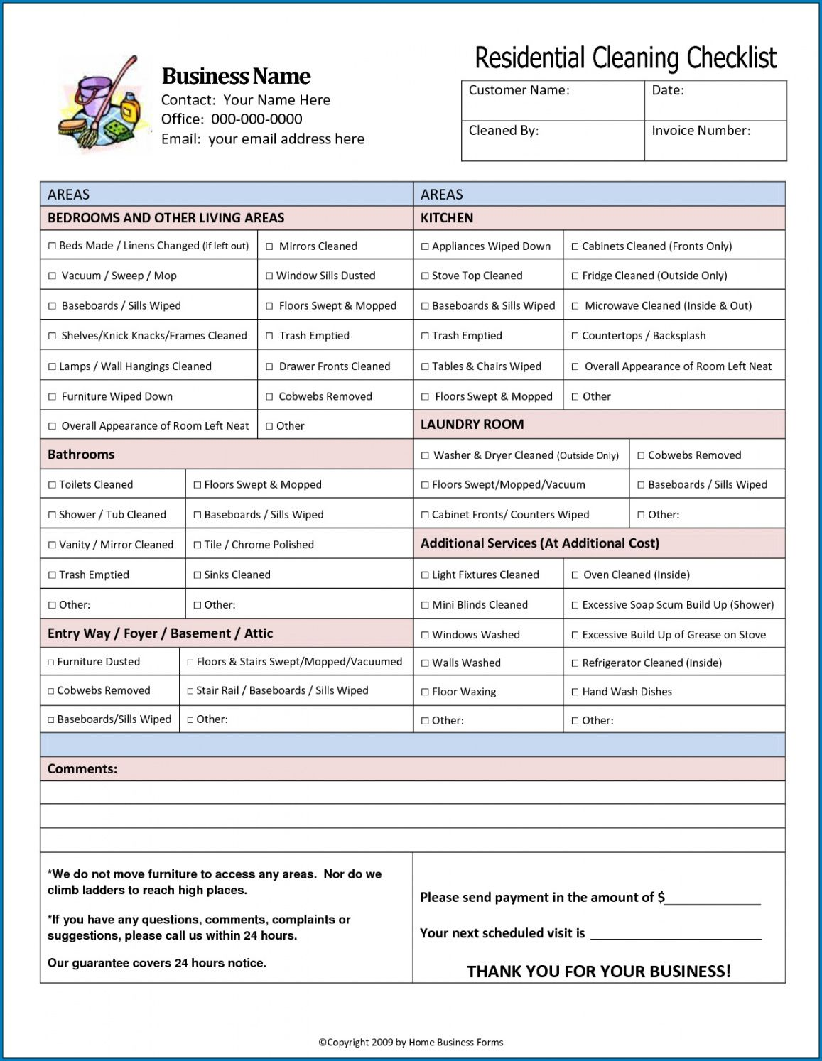 free √ free printable medical office cleaning checklist template commercial cleaning checklist template doc