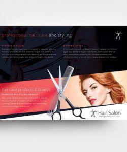 free hair salon flyer template in psd ai & vector  brandpacks beauty salon flyer template doc