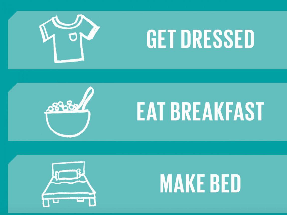 free handy printable morning routine checklist morning routine checklist template examples