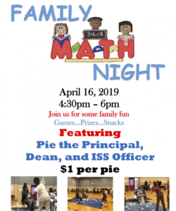 free join thea bowman elementary at math night! april 16th! math night flyer template