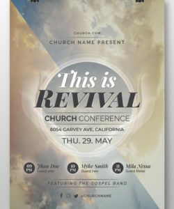 free las 31 mejores plantillas de folletos de iglesia plantillas church revival flyer template and sample