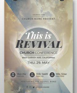 free las 31 mejores plantillas de folletos de iglesia plantillas church revival flyer template and sample