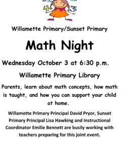 free math education night math night flyer template doc