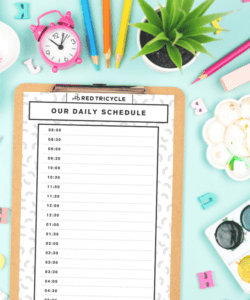 free printable chore chart and daily routine blank templates morning routine checklist template excel