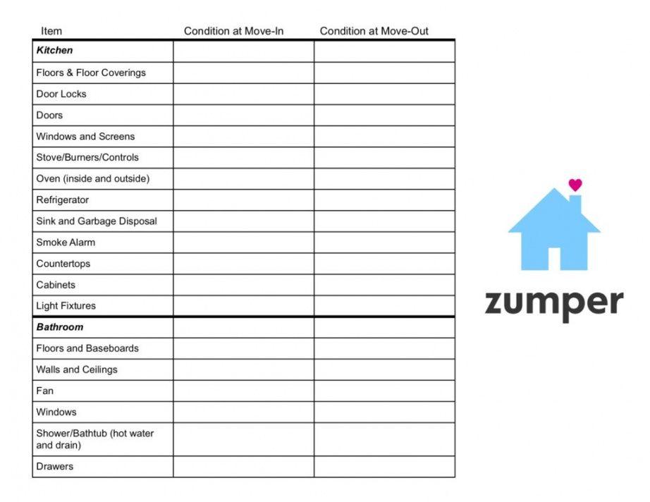free rental inspection checklist printable pdf rental inspection checklist template pdf