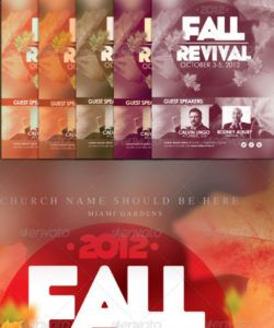 free revival flyer graphics designs & templates from graphicriver church revival flyer template