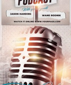 free talk show graphics designs & templates from graphicriver radio show flyer template