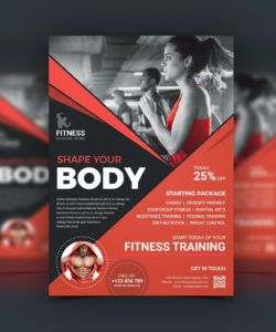 free top rated fitness center flyer design template fitness center flyer template