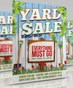 free yard sale  garage sales flyer template by owpictures on moving sale flyer template and sample