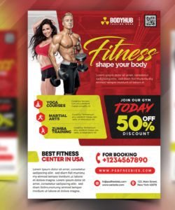 gym fitness center flyer psd  psdfreebies fitness center flyer template