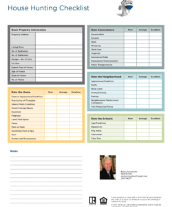 house hunting checklist authorstream house hunting checklist template doc