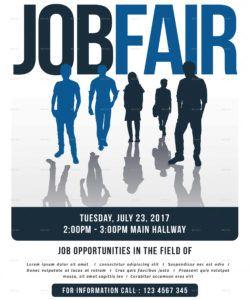 job fair flyer college fair flyer template and sample
