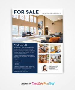 luxury real estate flyer  for sale  creativepentool luxury real estate flyer template doc